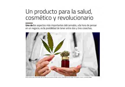 Un producto para la salud, cosmético y revolucionario
